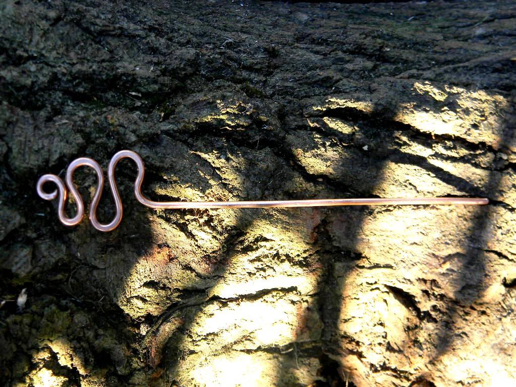 fermacapelli serpente