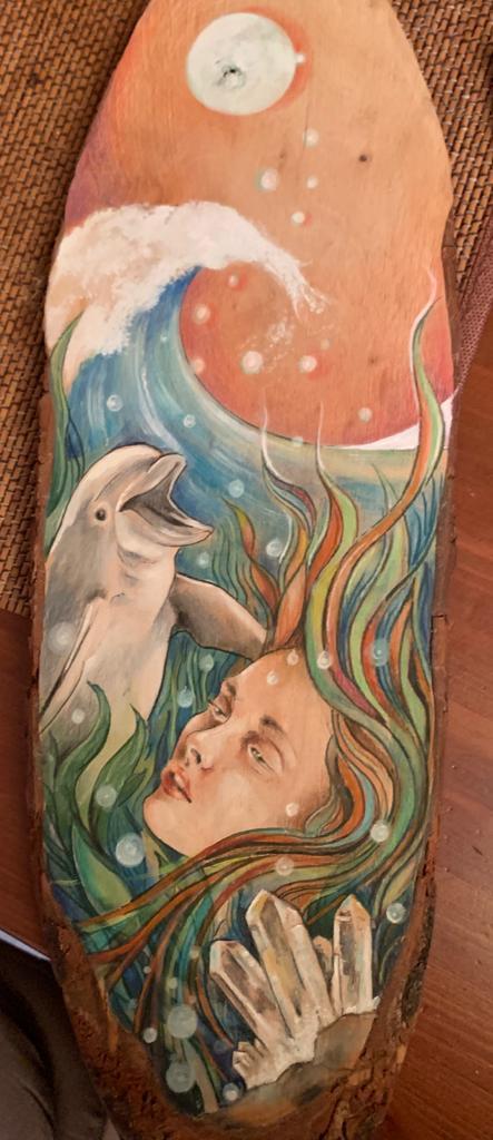 delfino fanciulla